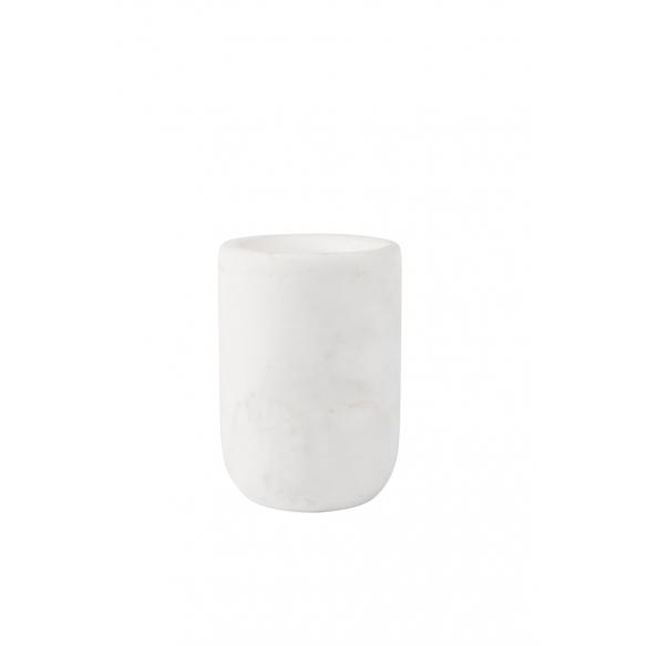 kuppi Marble, valkoinen