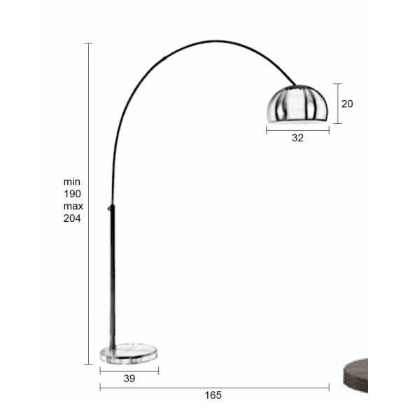 lattialamppu Bow