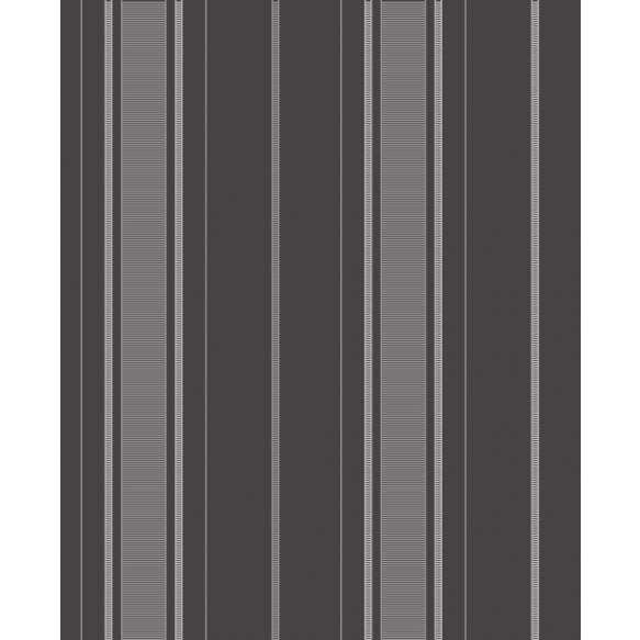 Accents Stripe Black/Grey