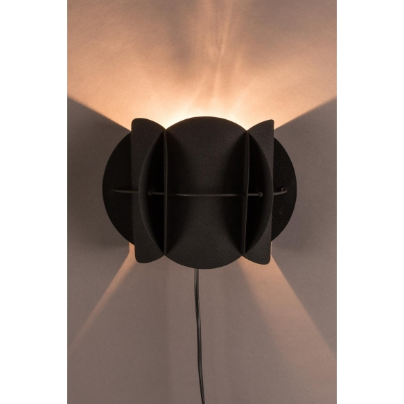 seinälamppu Corridor, musta