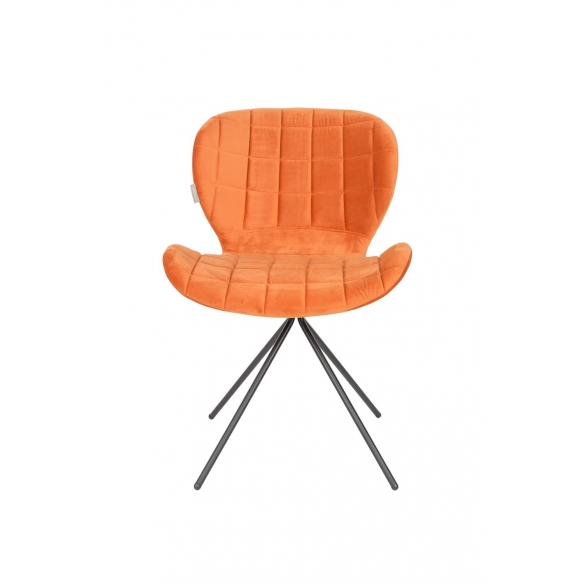 tuoli OMG Velvet, oranssi