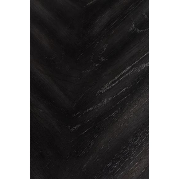 ruokapöytä Seth, 180x90, musta