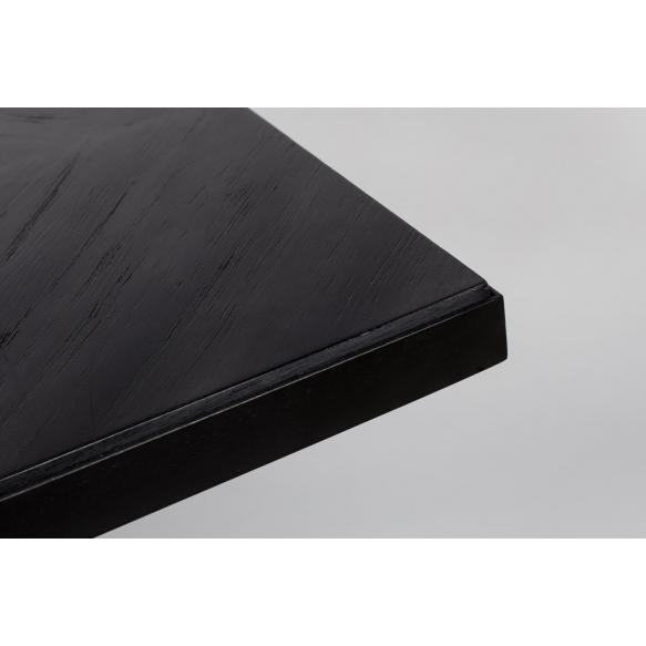 ruokapöytä Seth, 220x90, musta