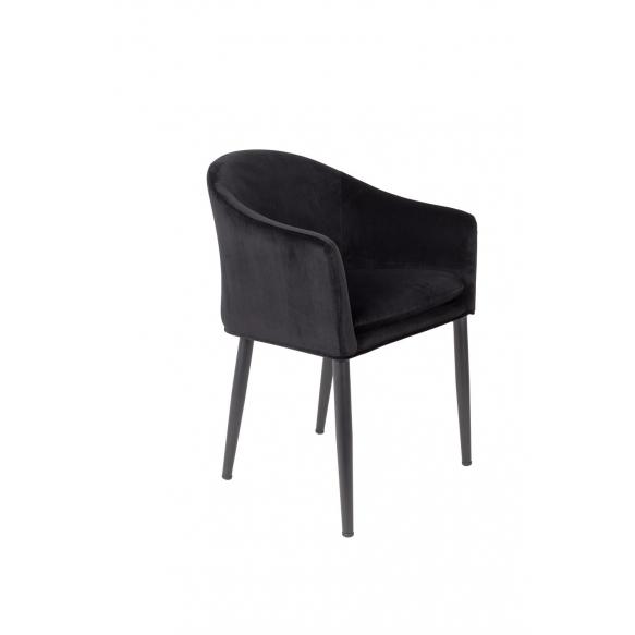 käsinojallinen tuoli Catelyn, musta