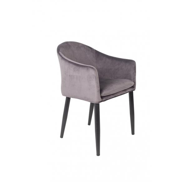 käsinojallinen tuoli Catelyn, harmaa