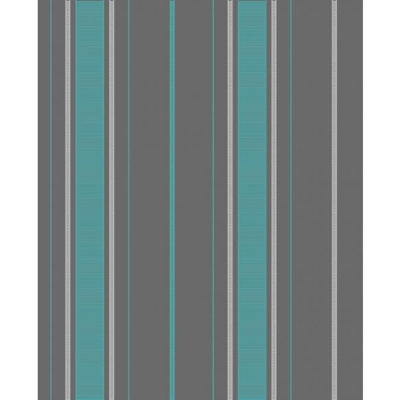 Accents Stripe Turquosie/Grey
