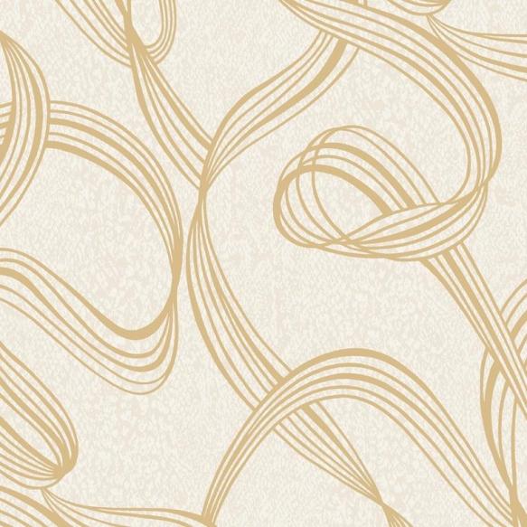 Decadence Ribbon SwirlGold/Cream