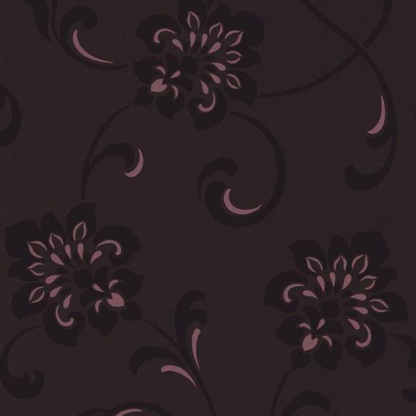 Decadence Jacobean Floral Purple