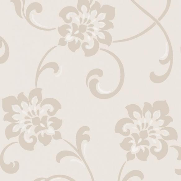 Decadence Jacobean Floral Cream