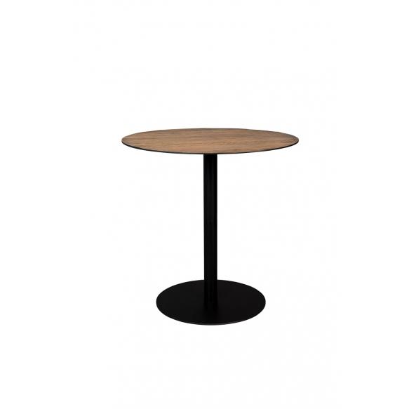 pyöreä bistropöytä Braza, ruskea