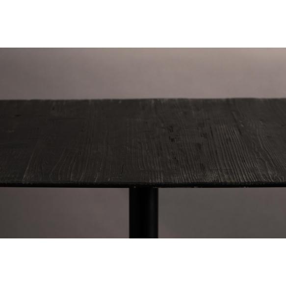 kulmikas bistropöytä Braza, musta