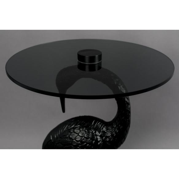 apupöytä Crane, musta