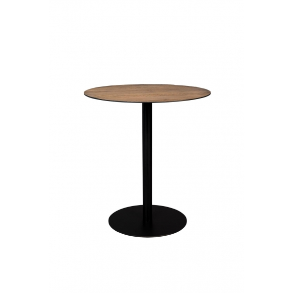 matala pyöreä baaripöytä Braza, ruskea