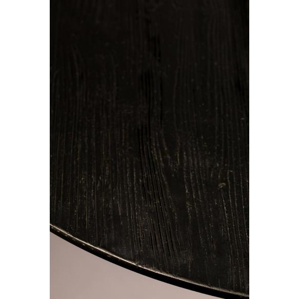 matala pyöreä baaripöytä Braza, musta (näytekappale)