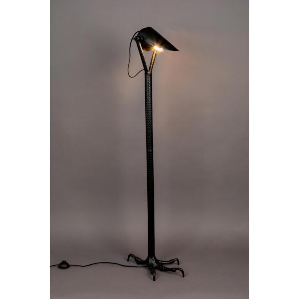 lattialamppu Falcon, musta