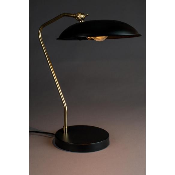 pöytälamppu Liam, musta