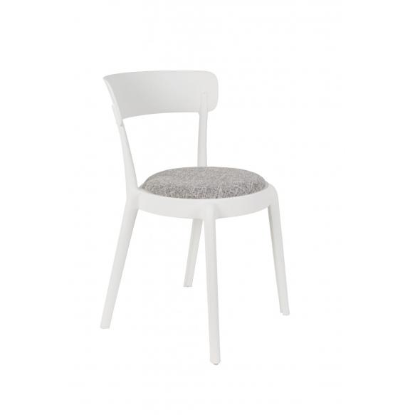 setti: 2 tuolia Hoppe Comfy, valkoinen