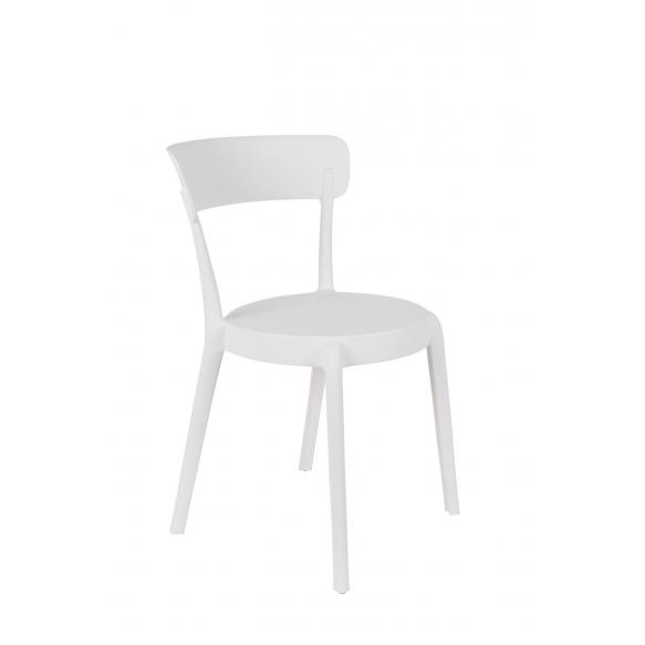 setti: 2 tuolia Hoppe, valkoinen