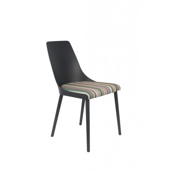 setti: 2 tuolia Olivia, tummanharmaa