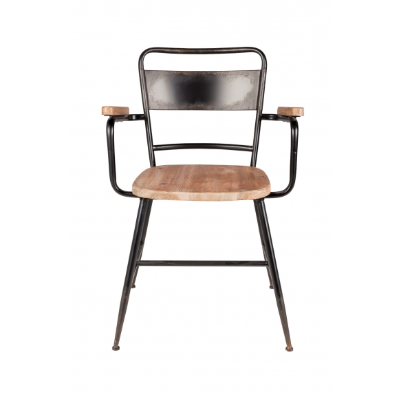 setti: 2 käsituin varustettua tuolia Gene