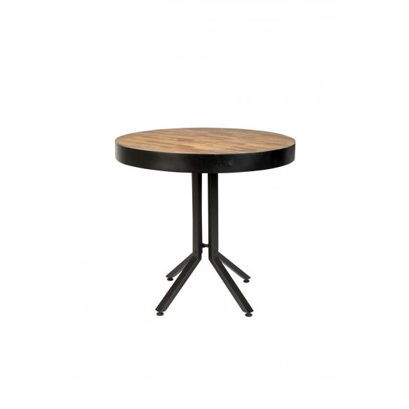 pyöreä bistropöytä Maze, luonnollinen