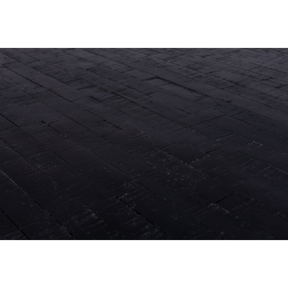 kulmikas bistropöytä Maze, musta