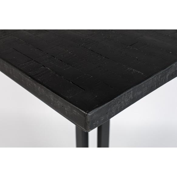 kulmikas baaripöytä Maze, musta