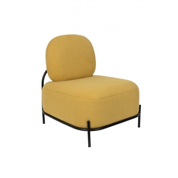 nojatuoli Polly, keltainen