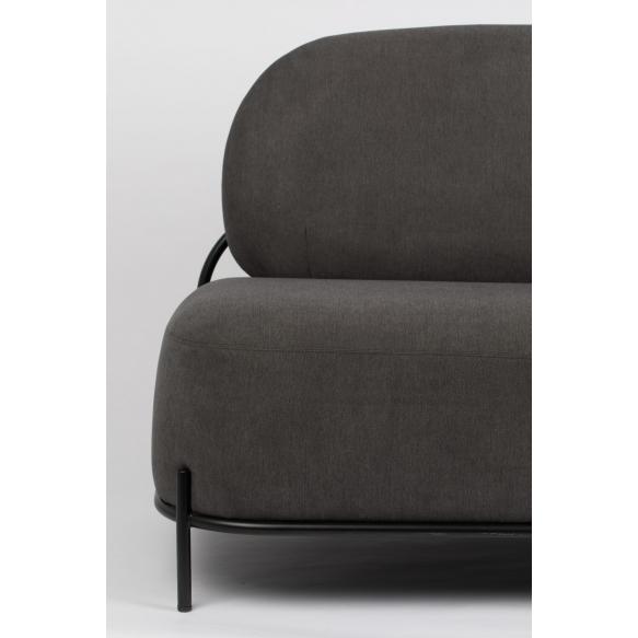 sohva Polly, harmaa