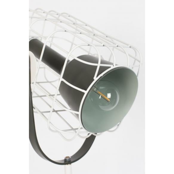 lattialamppu Cage, valkoinen (näytekappale)