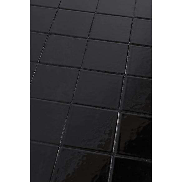 kahvipöytä Glazed, musta