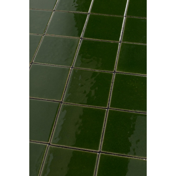 kahvipöytä Glazed, vihreä