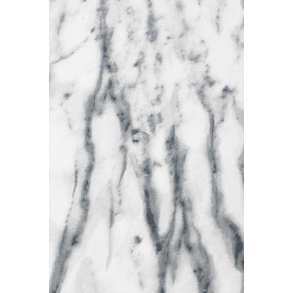 kulmikas apupöytä Snow Marble