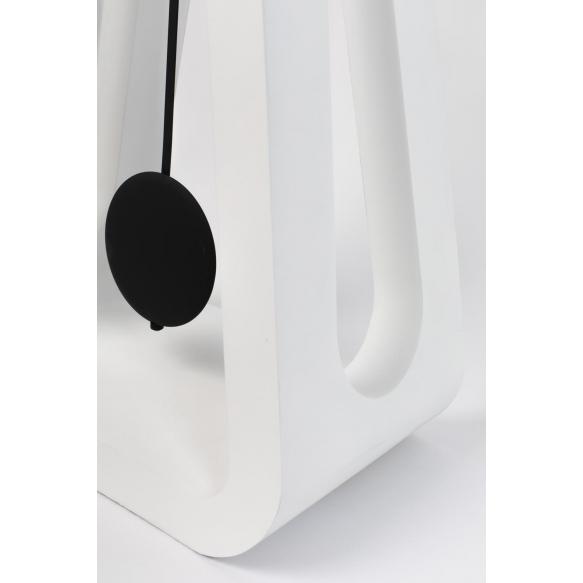 lattiakello Humongous, valkoinen