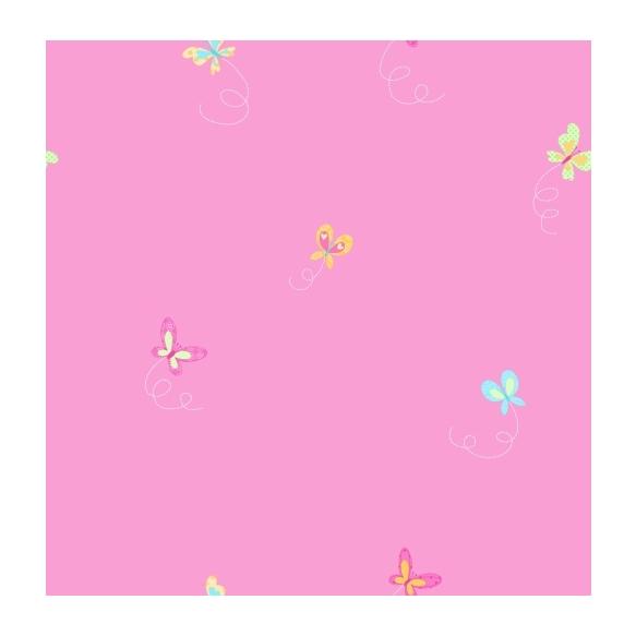 Hoopla Butterfly Sidewall Pink