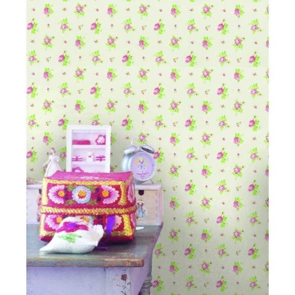 Hoopla Rosebud SidewallPink