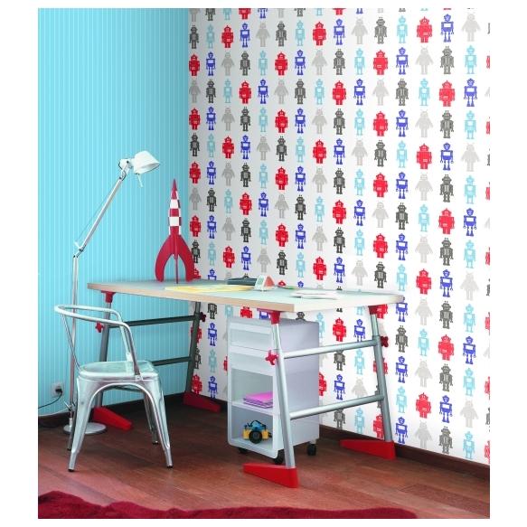 Hoopla Pin Stripe Sidewall Blue