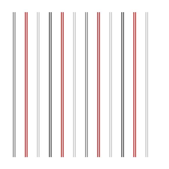 Hoopla Multi Stripe SidewallRed