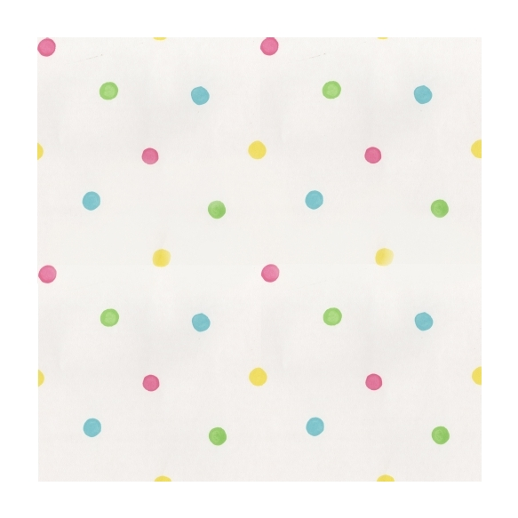 Hoopla Spots SidewallPink