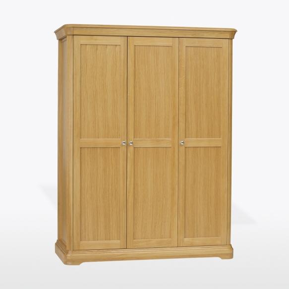 vaatekaappi 3 ovella laatikoin