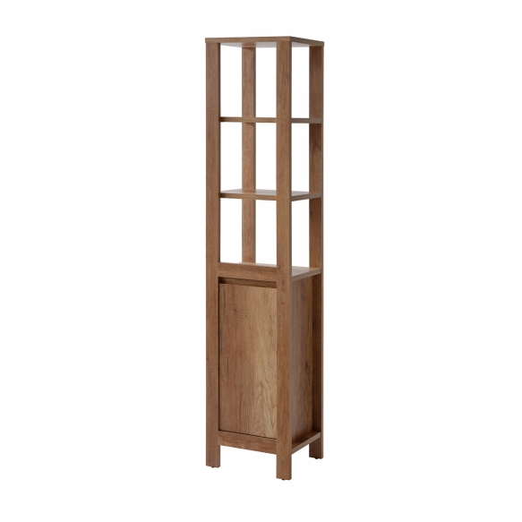 korkea kaappi Interia Classic Oak, 40x185x35 cm, tammi