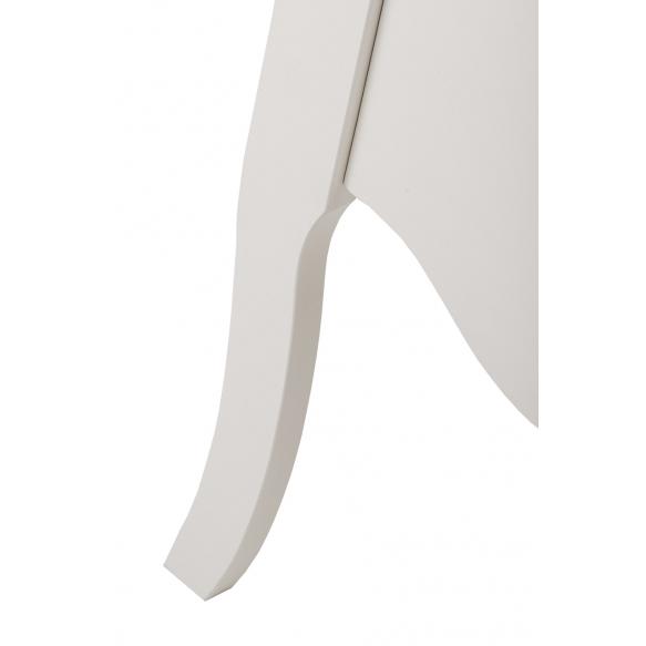 korkea kaappi Interia Elizabeth, 45x155x35 cm, valkoinen
