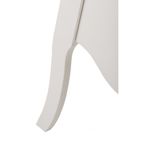 sivukaappi Interia Elizabeth, 45x80x30 cm, valkoinen