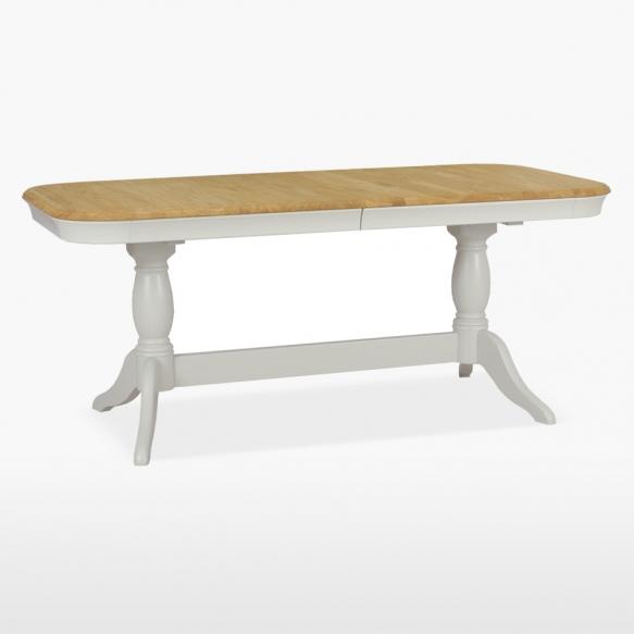 soikea ruokapöytä Cromwell, 1 jatkeella 180/230 cm