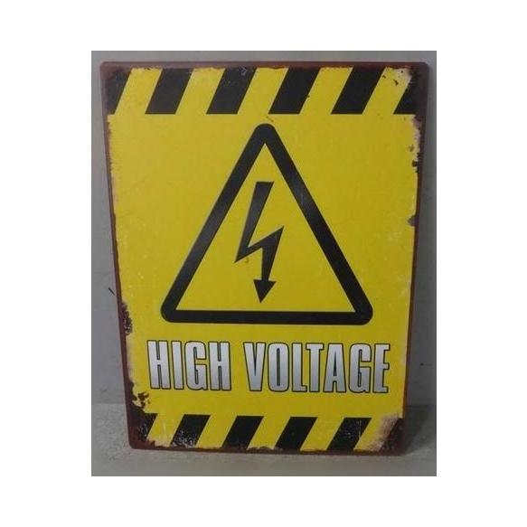High voltage juliste