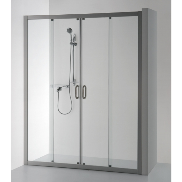 Brasta SVAJA PLUS suihkuseinä suihkusyvennyksiin