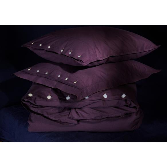 tyynyliina Eggplant 50x60 cm, 100% perkaalipuuvilla