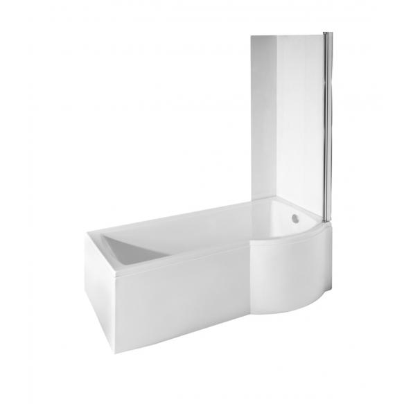 kylpyamme Interia Inspira 150 + ammeseinä, 170 l, 1500 x 790 mm, vasen