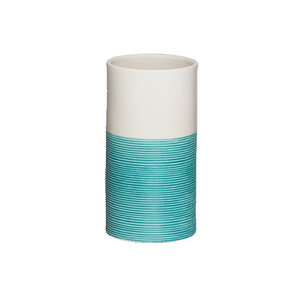 sininen muki DOPPIO, käsin valmistettua keramiikkaa