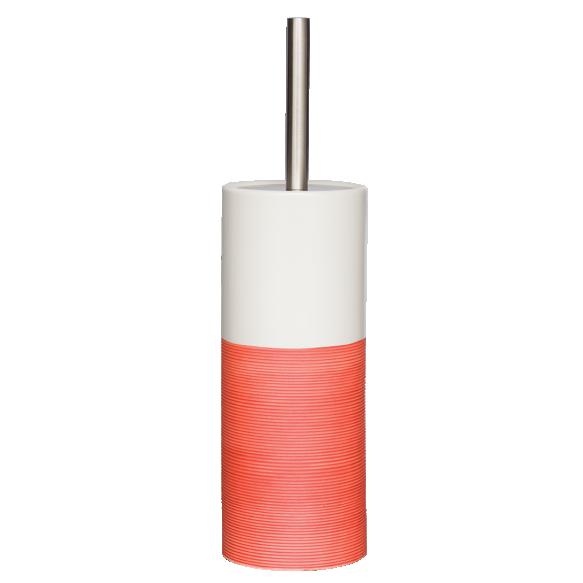 punainen wc-harja DOPPIO, käsin valmistettua keramiikkaa